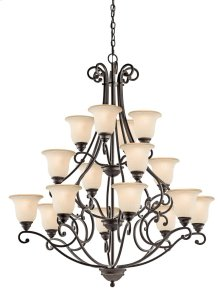Camerena 16 Light Chandelier Olde Bronze®
