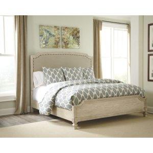 Ashley Furniture Demarlos - Parchment White 3 Piece Bed Set (Queen)