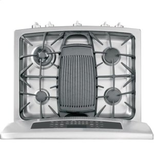 """GE Profile™ Series 30"""" Free-Standing Gas Double Oven with Convection Range"""