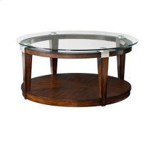 Solitaire Round Cocktail Table
