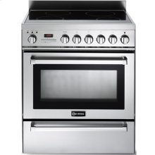 """Stainless Steel 30"""" Self-Cleaning INDUCTION Top Range"""