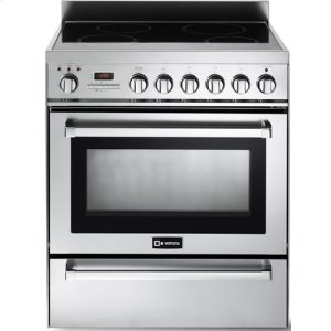 "VeronaStainless Steel 30"" Self-Cleaning INDUCTION Top Range"