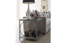 Cinema by Rachael Ray Glass Top End Table
