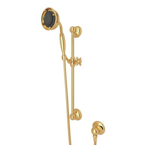 Italian Brass Multi-Function Classic Handshower/Hose/Bar/Outlet Set