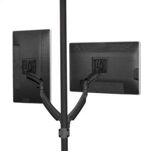 Chief ManufacturingKontour K1P Dynamic Pole Mount, 2 Monitors