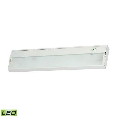 ZeeLED Dimmable LED 120V - 2 Light, 17 1 / 2-inch. White Finish.
