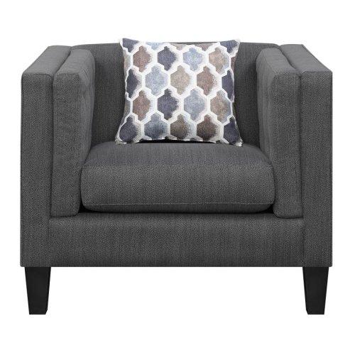 Sawyer Modern Dusty Blue Chair