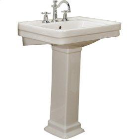 Sussex 550 Pedestal Lavatory - Bisque - Bisque