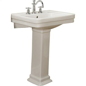 Sussex 660 Pedestal Lavatory - Bisque - Bisque