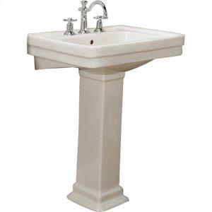 Sussex 550 Pedestal Lavatory - Bisque - Bisque Product Image