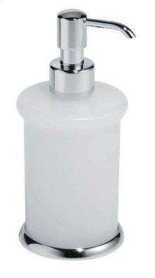 Free Standing Soap Dispenser - Brushed Nickel