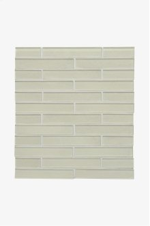 """Optix Watercolors 1"""" x 6"""" Staggered Mosaic STYLE: WCSM16"""