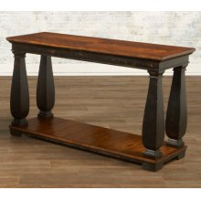 Sofa Table w/ Shelf
