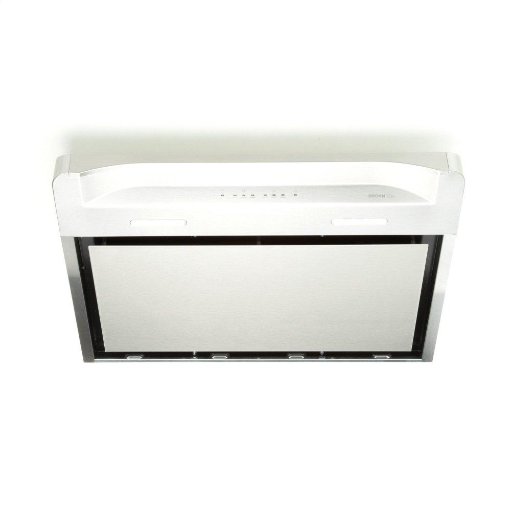 8bb8d56c1ef Broan Alta 36-inch 500 CFM Stainless Steel Under-Cabinet Range Hood with LED  light
