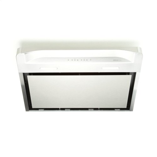 Alta 30-inch 500 CFM Stainless Steel Under-Cabinet Range Hood with LED light