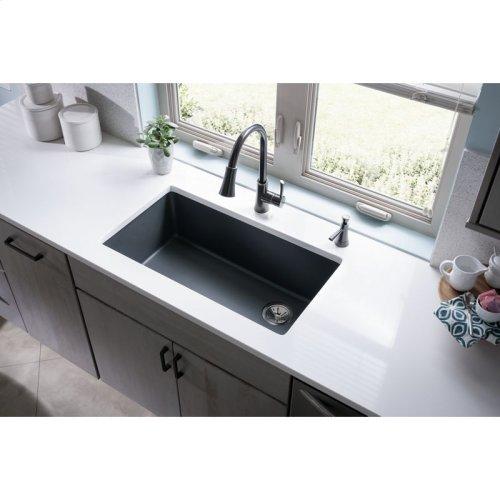 "Elkay Quartz Classic 33"" x 18-3/4"" x 9-1/2"", Single Bowl Undermount Sink, Putty"