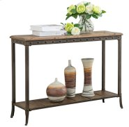 Trenton Rectangular Console Table in Distressed Pine Product Image