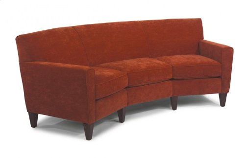 Digby Leather Conversation Sofa