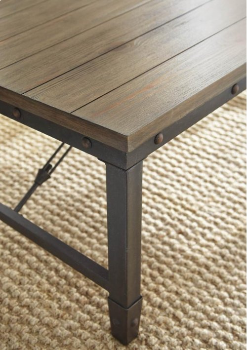 "Jersey End Table 23"" x 23"" x 24"""