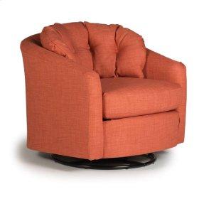 SANYA Swivel Barrel Chair