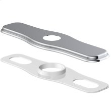 "Chrome Cover Plate Assembly for 8"" Centerset Kitchen Faucet Chrome"