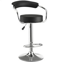 Diner Bar Stool in Black