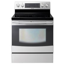 New 5.9 cu. ft. Flex Duo Electric Range (Stainless Steel)