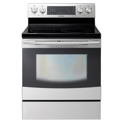 New 5.9 cu. ft. Flex Duo Electric Range (Stainless Steel) Product Image