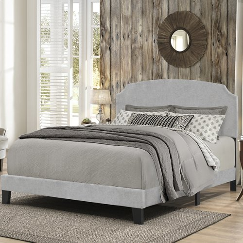 Desi Bed In One - King - Glacier Gray Fabroc