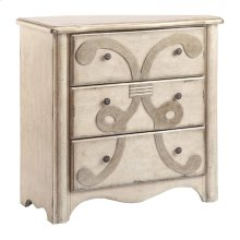 Alma 3-drawer Accent Chest