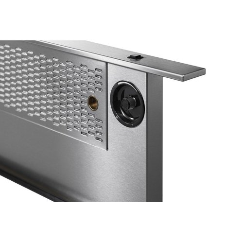 "Modernist 36"" Downdraft for Range, Silver Stainless Steel"