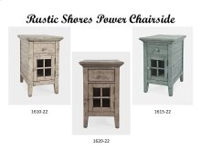 Rustic Shores Power Chairside - Scrimshaw