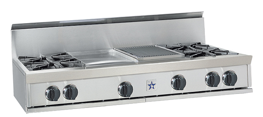 """48"""" RANGETOP WITH A 24"""" GRIDDLE"""