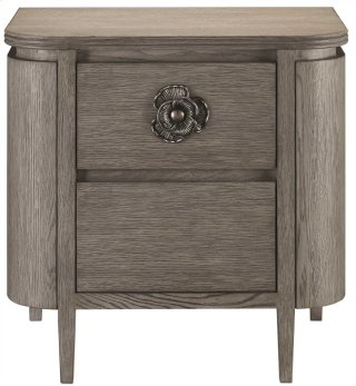 Briallen Nightstand, Winter Gray - 27.75h x 28w x 18.5d
