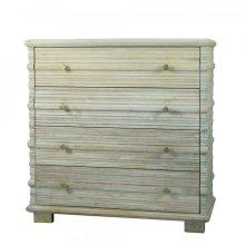 Solid Mango 4 Drawer Cabinet