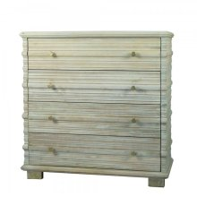 Solid Mango 4 Drawer Cabinet
