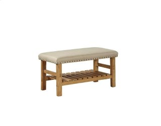 Linen Everett Bench