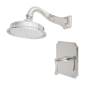 Polished-Gold-PVD Balanced Pressure Shower Trim Set