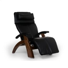 "Perfect Chair PC-LiVE "" - Black Premium Leather - Walnut"