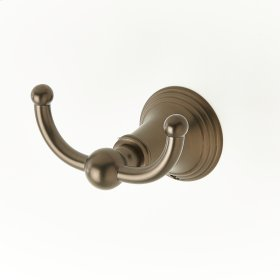 Double Robe Hook Berea Series 11 Bronze