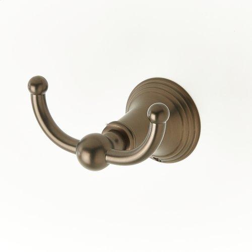 Double Robe Hook Berea (series 11) Bronze
