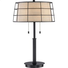 Landings Table Lamp in Mottled Cocoa