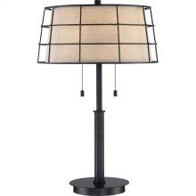 Landings Table Lamp in Mottled Cocoa