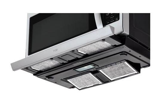 LMH2235ST LG Appliances 2 2 cu ft  Over-the-Range Microwave