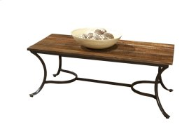 Emerald Home Innsbruck Rectangle Cocktail Table Medium Brown T4720