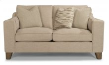 Arrow Fabric Loveseat