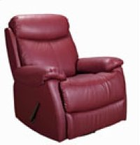REC-220 Brazil Wine Leather Recliner Product Image