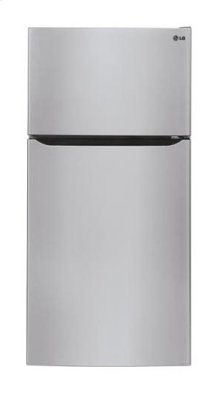"20 cu. ft. Large Capacity Top Freezer Refrigerator w/Ice Maker (Fits a 30"" Opening)"