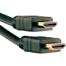 High-Speed HDMI® Cable with Ethernet, 25ft