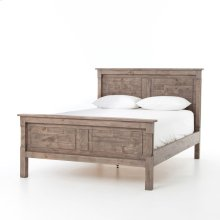 Cintra Qta Queen Bed-rustic Sundried Ash